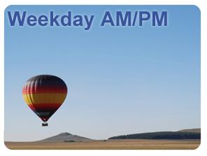 Weekday Balloon Flight Voucher