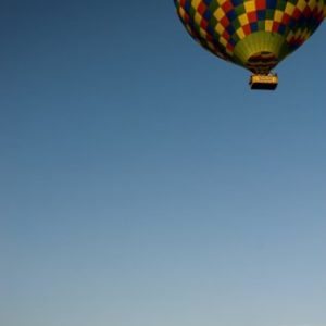 Hot Air Balloon over Dorset