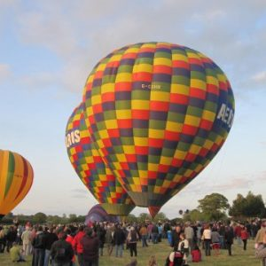 Balloon Flights from a UK Festival