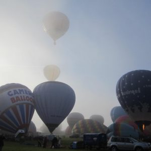 Tiverton Balloon Festival Flight