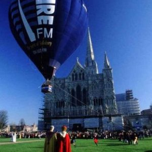 Spire Balloons in Wiltshire